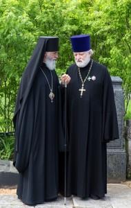 Владыка Адриан и о. Алексий Бабурин